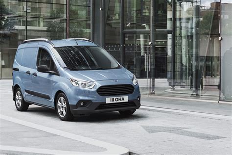 ford tourneo courier 2018 ford transit connect and transit courier 2018 facelift big changes for small vans parkers