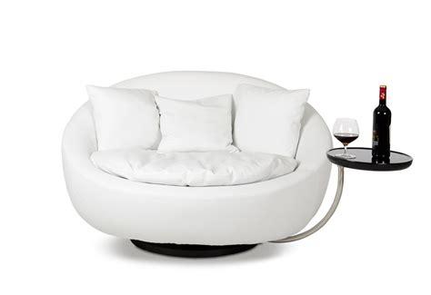 alba modern white liesure chair