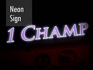 our works kuala lumpur signboard company signmaker signage With neon letter maker