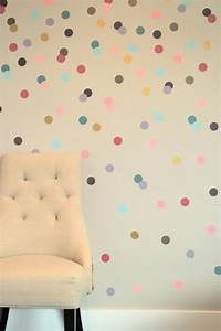 promo gold polka dots wall sticker baby nursery stickers With kitchen cabinets lowes with gold dot stickers