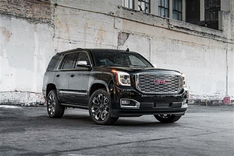 2018 Gmc Yukon Denali Introduces Ultimate Black Edition In