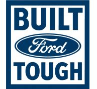 built ford tough trucks butler blue