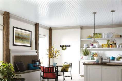 Armstrong Woodhaven Whitewashed Ceiling Planks by Woodhaven Woodhaven Collection Wood Paintable 5 Quot X 84