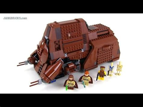 lego star wars mtt  edition review set  youtube