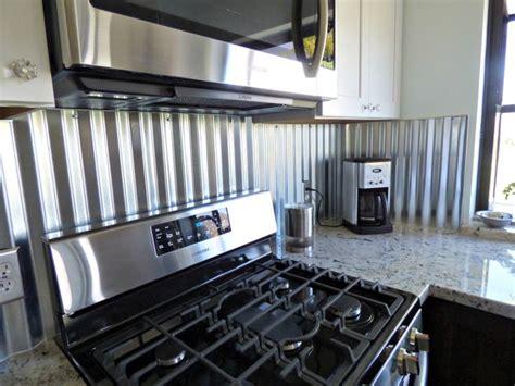 aluminum backsplash kitchen corrugated metal backsplash kitchen remodels