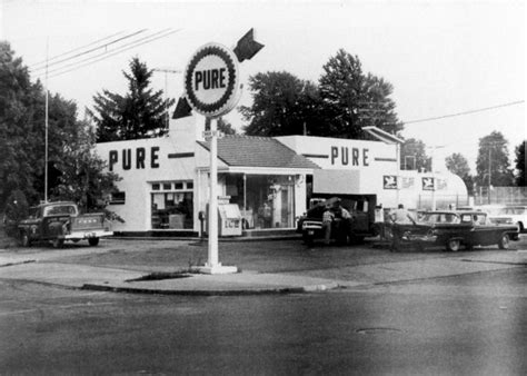 pure oil station   gas stations pinterest
