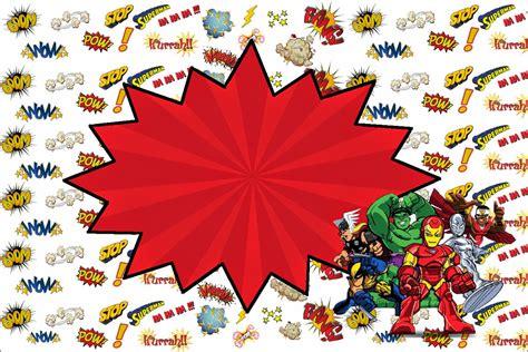 cup marvel template marvel superheroes squad free printable invitations oh
