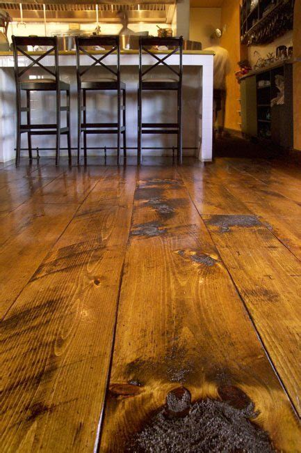 distressed pine flooring sets  backdrop  italian