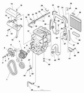 Simplicity 1692871 - Legacy  20hp Lc Hydro Parts Diagram For Engine Group