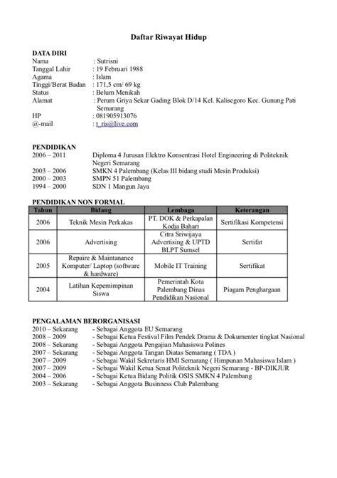 Contoh surat lamaran kerja | CV Terbaru | Cekkembali
