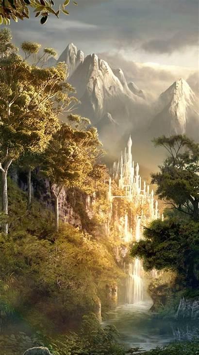 Fantasy Landscape Check Abyss
