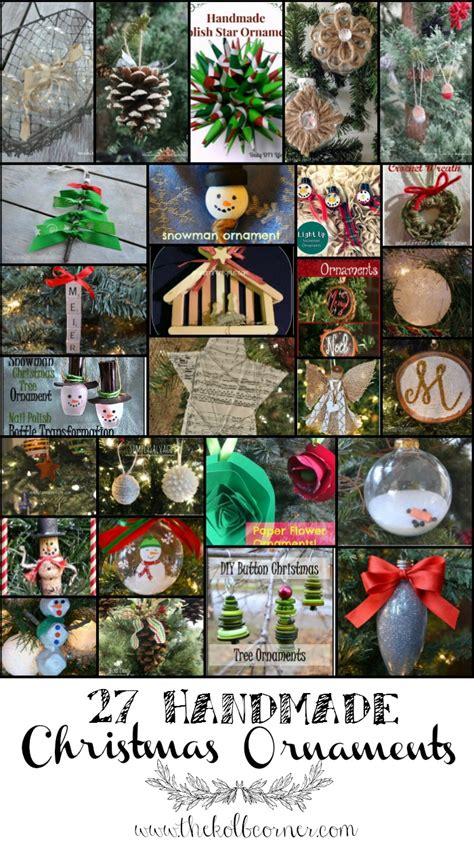 sorelle handcrafted christmas bulbs 27 handmade ornaments the kolb corner