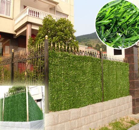 hot sgs certificate mm artificial grass fence