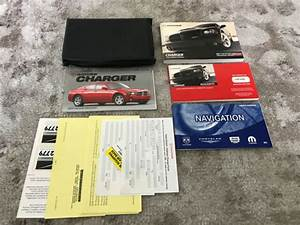2006 Dodge Charger Srt8 Owners Manual With Case And