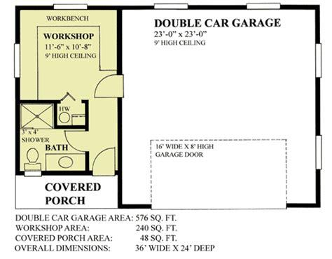 car garage  workshop sw architectural