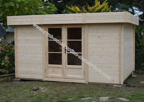 bureau de jardin prix bureau bois en kit modèle reims 20 sans permis de construire