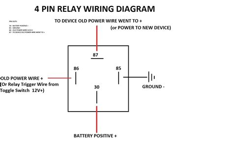 Awesome Optronics 40 Amp 4 Pin Relay Wiring Diagram Component ...