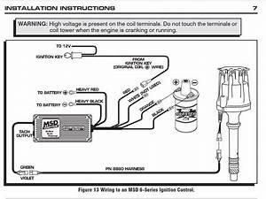 Msd 6al Wiring Diagram