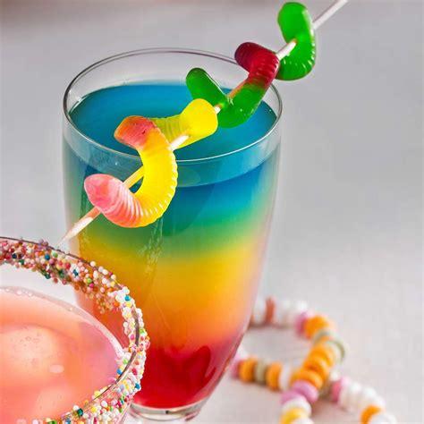 regenbogen cocktail rezept kaufland