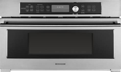 zscjss monogram built  oven  advantium speedcook technology  stainless steel