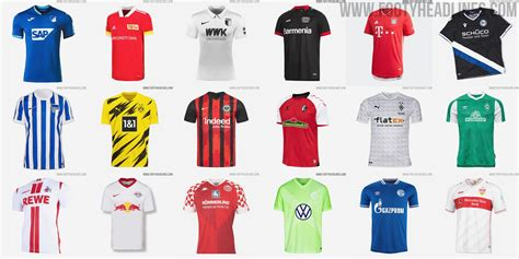 All Bundesliga 20-21 Kits - Overview 100% Complete - Footy ...