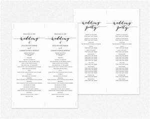 magnificent wedding ceremony programs templates pictures With wedding ceremony itinerary template