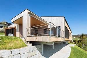Haus Mit Holz : wohnen mit holz in einem bungalow m haus blog holzbauweise ~ Frokenaadalensverden.com Haus und Dekorationen