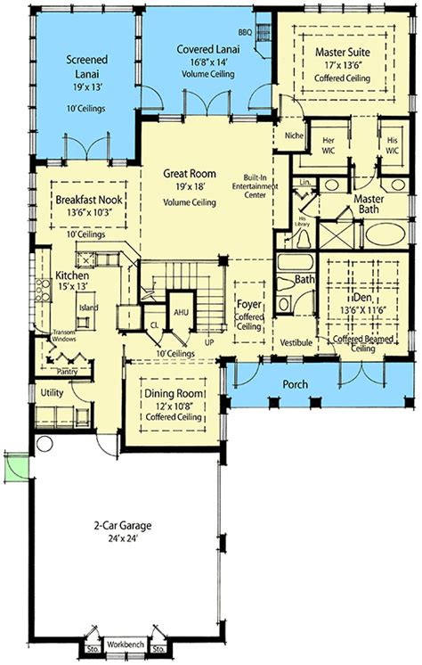 green home design plans sustainable living house plan 33035zr architectural