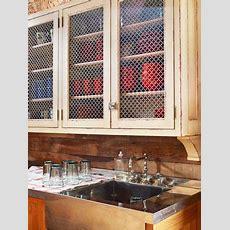25+ Best Ideas About Chicken Wire Cabinets On Pinterest