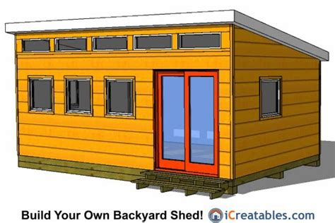 12x20 Storage Shed Plans by Shed Design Backyard Sheds