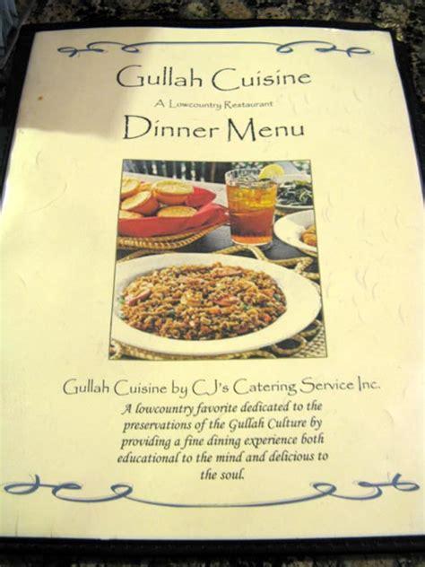 gulli cuisine gullah cuisine 1717 highway 17 mt pleasant south