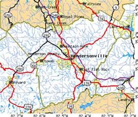 Henderson NC North Carolina Map