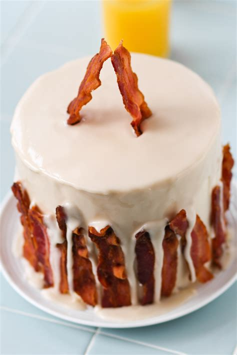 maple cake maple bacon cake confessions of a cookbook queen