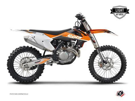 kit d 233 co moto cross stage ktm 125 sx orange light kutvek