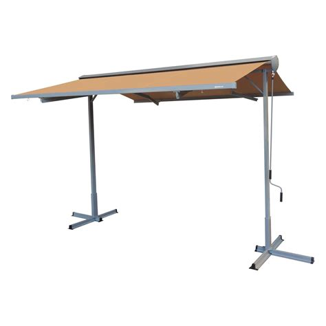 advaning  ft  standing retractable patio awning walmartcom