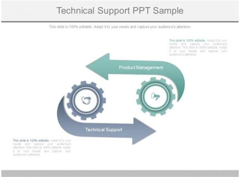technical support  sample powerpoint shapes