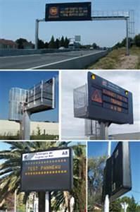 Panneau Lumineux Message : panneaux messages variables et matriciels ~ Teatrodelosmanantiales.com Idées de Décoration