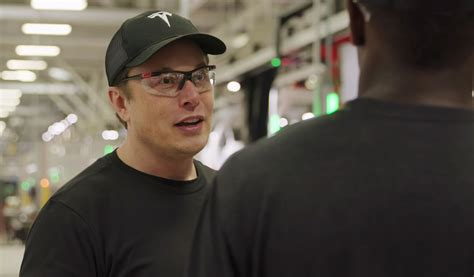 Elon Musk Candidly Shows How Tesla's Factory Is Balancing