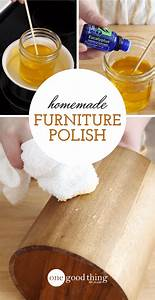 How to make an all natural conditioning furniture polish for Homemade organic furniture polish