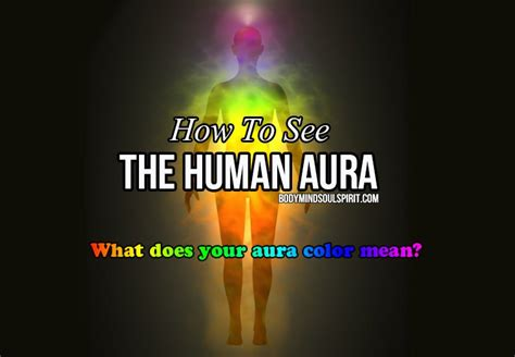 colors of aura how to read auras what does your aura color
