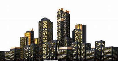 Night York Skyline Silhouette Cityscape Transparent Clipart