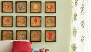 Hacer cuadros decorativos con hojas secas Decomanitas