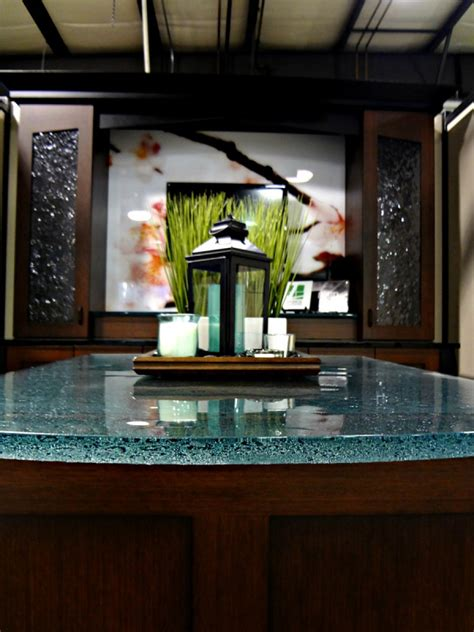 Glass Countertops For Kitchens, Bathroom Vanities, And Bar