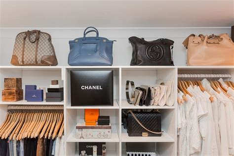Luxury Closet Handbags by Glam Closet With Purse Shelves Transitional Closet