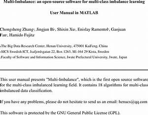 User Manual Matlab