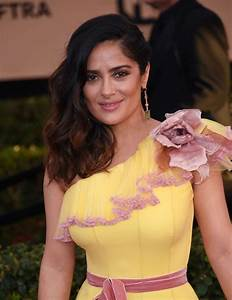 Salma Hayek Arrives for the 2017 sag Awards - Celebzz ...