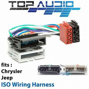 Chrysler Iso Wiring Harness Stereo Radio Plug Lead Loom