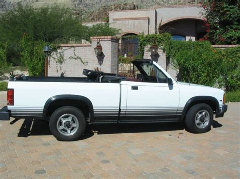 1989 DODGE DAKOTA CONVERTIBLE PICKUP RARE! One Arizona