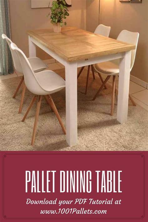 DIY PDF Tutorial Pallet Dining Table ? 1001 Pallets ? FREE