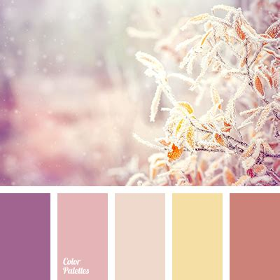 pastel yellow color palette ideas